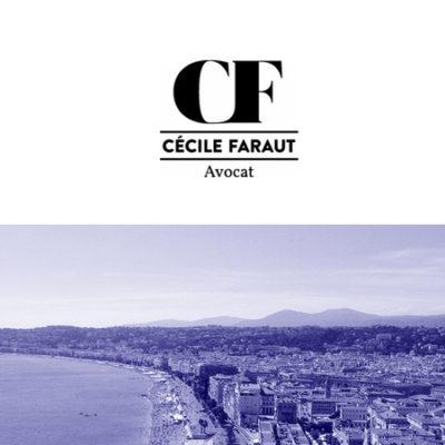 CÉCILE FARAUT AVOCAT  /// Site internet /// Nice