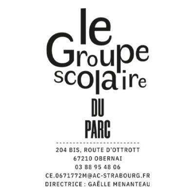 GROUPE SCOLAIRE DU PARC /// Création de logo 2019 /// Groupe scolaire du parc, Obernai, école primaire
